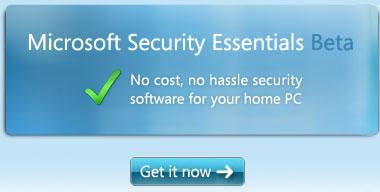 Microsoft-Security-Essentials-1.0-Beta