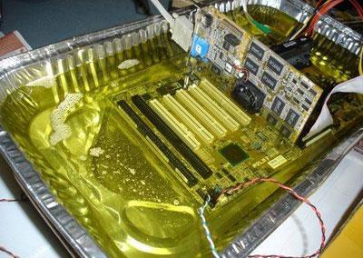Persiapan kabel2 mainboard dan komponen2 lain