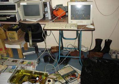 """Komputer """"jadi-jadian"""" siap untuk dinyalakan"""